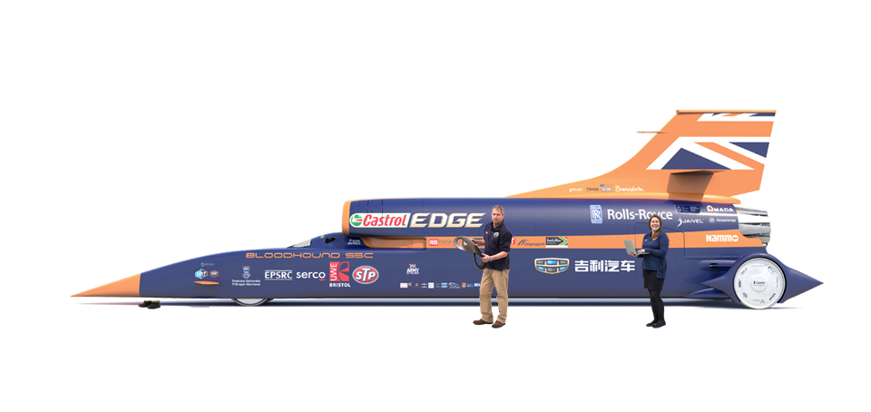 Bloodhound Car (Skin)