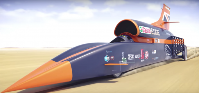 How to stop a 1,000mph car