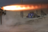 Rocket Test firing 010